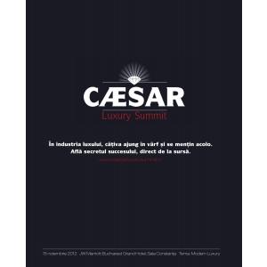 CAESAR Luxury Summit- un eveniment in premiera pe piata luxului din Romania
