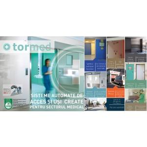 Tormed – sisteme automate de acces și uși create pentru sectorul medical