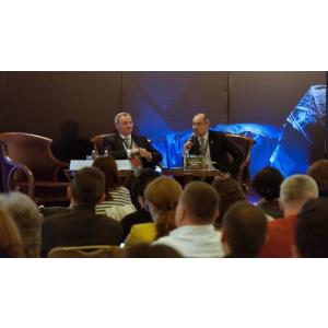 calitatea spatiului medical. Arh. Șerban Țigănaș, Președintele Ordinului Arhitecților din România și Dr. Gheorghe Borcean, Președintele Colegiului Medicilor din România