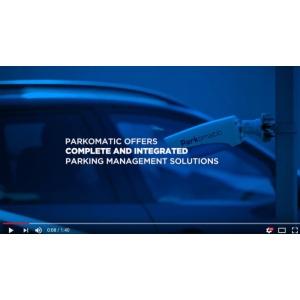 Video soluții complete de parcare Parkomatic