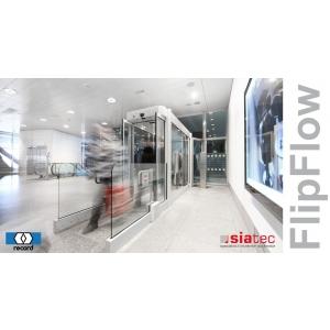 Siatec. FlipFlow, ușile pentru accesul controlat în aeroporturi