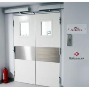 Sisteme automate de acces – soluții inginerești pentru spații medicale cu funcționalități și design contemporan