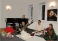 mancare indiana. Concert de muzica indiana