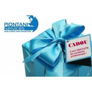 Piontani Services ofera noilor clienti un cadou de sarbatori : 2 luni de curatenie gratuita!