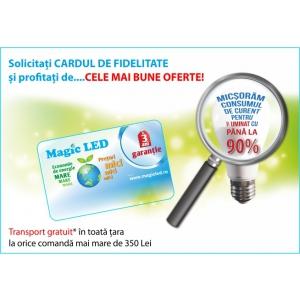 magic led. Magic LED lansează cardul care scade preţul becurilor