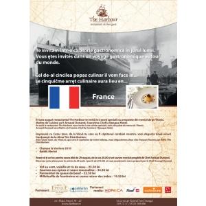 French Cuisine şi Seara Titanic la The Harbour