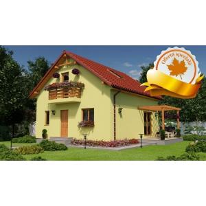 case structura lemn. Casa Oana - una dintre cele patru oferte speciale Casecalduroase.ro