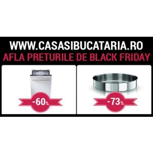 casasibucataria.ro - Reduceri de pana la 70% de Black Friday
