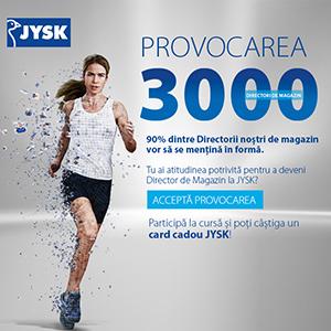 3000 de Directori de Magazin sunt în centrul noii campanii JYSK