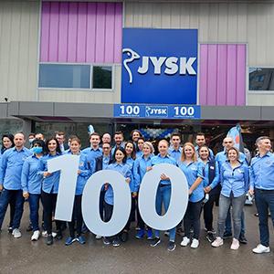 JYSK ajunge la 100 de magazine în România. Obiectivul retailerului este de a-și dubla numărul de magazine