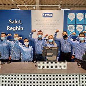 JYSK deschide un magazin în Reghin si ajunge la 98 de magazine in Romania