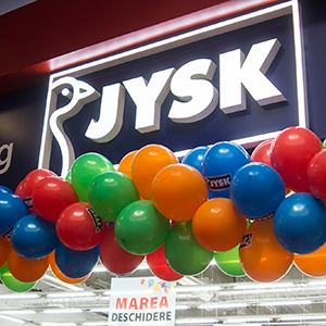amenejare magazin. Marea Deschidere JYSK Iasi 2 Era Shopping Park