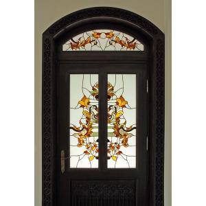 Arta vitraliilor integrata in locuinte
