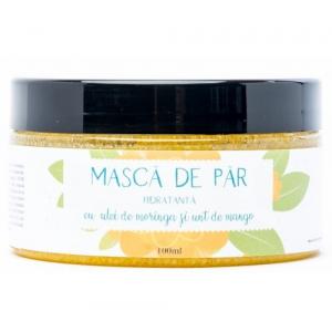 Masca hidratanta cu ulei de moringa, de la Cris natur - sanatate in fiecare fir de par