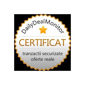 topdeals. Program de audit şi certificare pentru site-urile de reduceri: DailyDealMonitor.ro