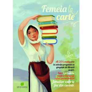 carte motivationala. Femeia la carte