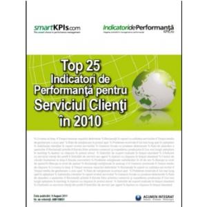 """IndicatoridePerformanta.ro anunţă lansarea raportului """"Top 25 Indicatori de Performanţă pentru Serviciul Clienţi în 2010"""""""