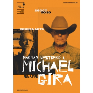 DokStation pop-up event la Cluj: concert Michael Gira & Norman Westberg si proiectie 'Swans: Where Does A Body End?'
