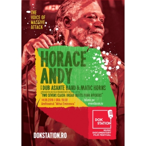 Horace Andy, vocea Massive Attack, in concert la DokStation