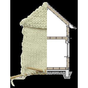 Izolatii: Pulover de lana pentru casa