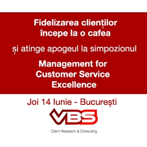 "Simpozion  ""Management for Customer Service Excellence"" 14 Iunie, Capital Plaza - Bucureşti"