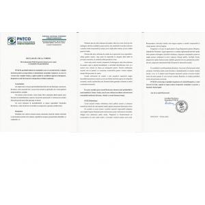 Declarația de la Torino Privind poziția PNȚCD pentru întoarcerea acasă a românilor de pretutindeni