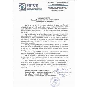 PNTCD considera ca Presedintele Frantei, Francois Hollande are dreptul sa declanseze procedurile pentru apararea colectiva