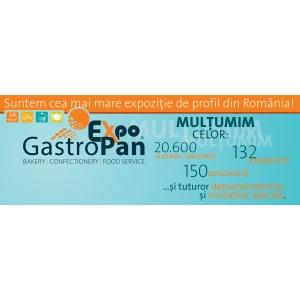 gastropan 2013. Bilant GastroPan 2013 Cea mai mare expozitie de profil din Romania