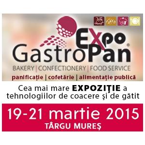 Brutarii, cofetarii si restaurante din toata tara participa la Concursurile GastroPan 2015