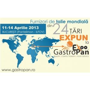 Furnizori de talie mondiala din 24 tari expun la GastroPan 2013!