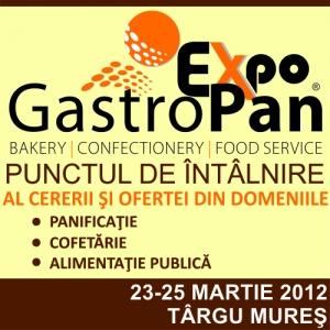 Expozitie internationala de panificatie, cofetarie si alimentatie publica.
