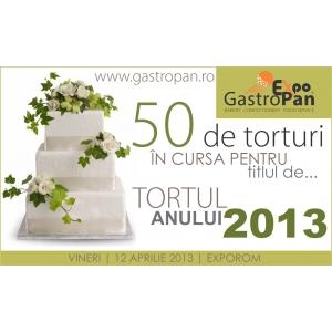 """Peste 50 de torturi de exceptie, in cursa pentru titlul """"Tortul Anului 2013""""!"""