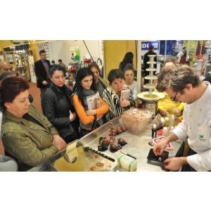 brutar. numeroase demonstratii practice fac parte din programul GastroPan