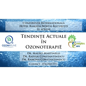 ozonoterapie. Conferinta Ozonoterapie