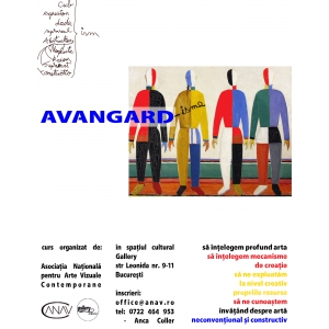 arte vizuale. curs, atelier, teorie, practica, arta, vizuale, avangarda, dadaism, cubism, colaj, expresionism, suprarealism,