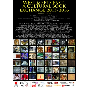"""WEST MEETS EAST"" – A Cultural Book Exchange 2015 / 2016 - Expoziție internațională de carte-obiect"