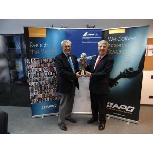 apg world connect conference. APG World Connect Conference, Monaco, 29-31 octombrie 2014: TAROM, a patra clasata in preferintele agentiilor de turism din lume privind  companiile aeriene cu care coopereaza cel mai bine