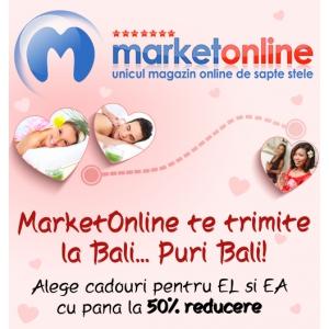 MarketOnline.ro: Răsfăţ în doi şi reduceri de până la 50%