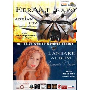Incolaciti. Joi 13 septembrie 2012, in cetatea Brasovului, muzica se imbina cu arta plastica intr-un spectacol eveniment.