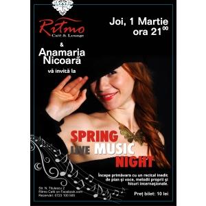 recital pian. Anamaria Nicoara