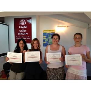 Trainerii Road Language Centre, singurii din Romania care au participat la workshop-ul Propell