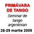concurs de primavara. Primavara de Tango