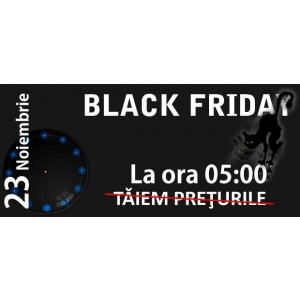 eBebel.ro ofera reduceri masive de Black Friday