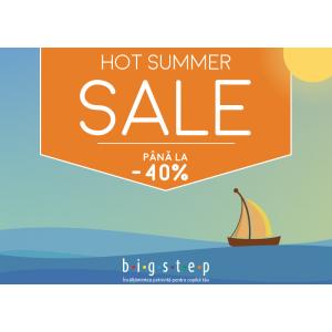 HOT SUMMER SALE – reduceri de până la 40% la Bigstep