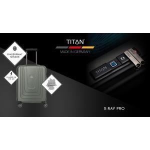 Inbagaj.ro a lansat în Romania în premieră bagaje cu ampreta digitala X-RAY de la producătorul german TITAN