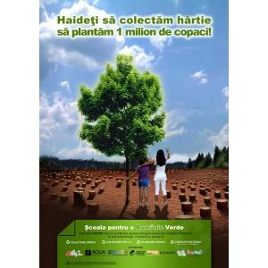 scoala pentru o romanie verde. actiune ecologica