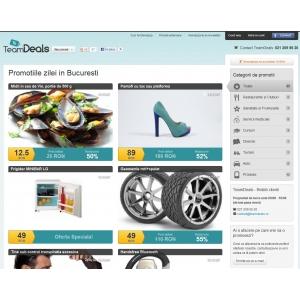 TeamDeals.ro: 1 an de inovatie, reduceri spectaculoase si clienti multumiti