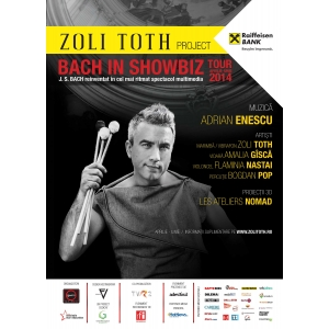 zoli toth. Zoli TÓTH este Bach in ShowBiz!