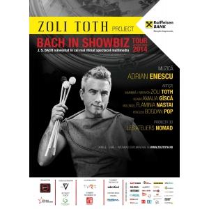 bach. Zoli TÓTH este Bach in ShowBiz!