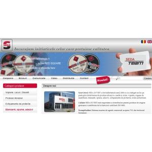 O noua interfata online pentru clienti si parteneri Seda Invest Srl
